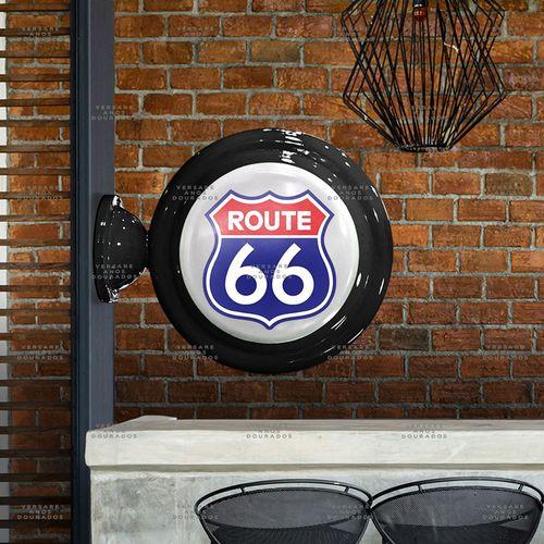 Luminaria-de-Parede-Route-66------------------------------------------------------------------------