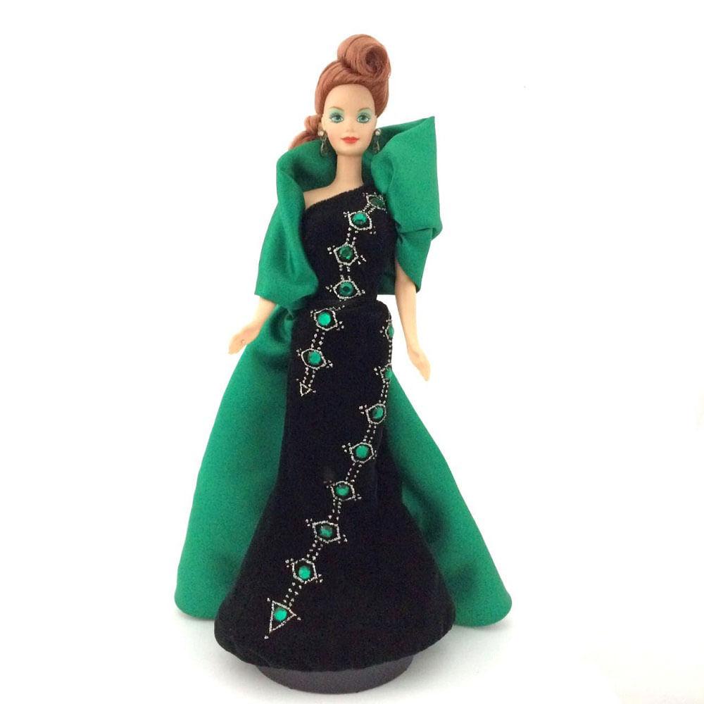 Barbie-Emerald-Embers-Com-Cristais-Swarovski-1997