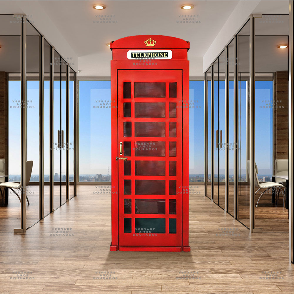 Cabine-Telefonica-Londres-Em-Escala-Real