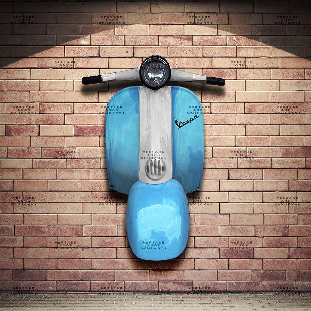 Frente-Vespa-World-Club-Azul---Caixa-Traseira-Creme