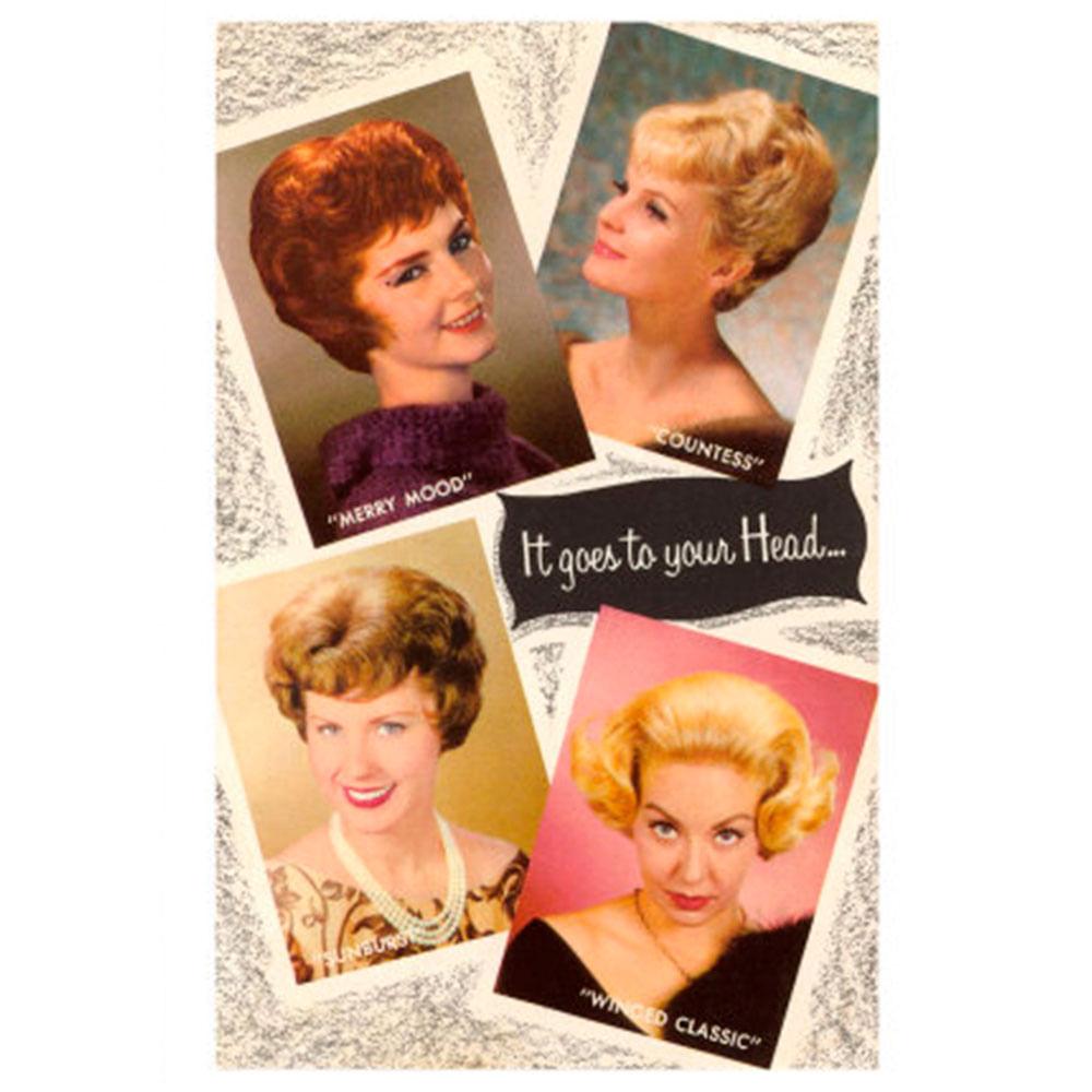 Quadro-Poster-Hair-Styles-Retro-60-X-39-Cm