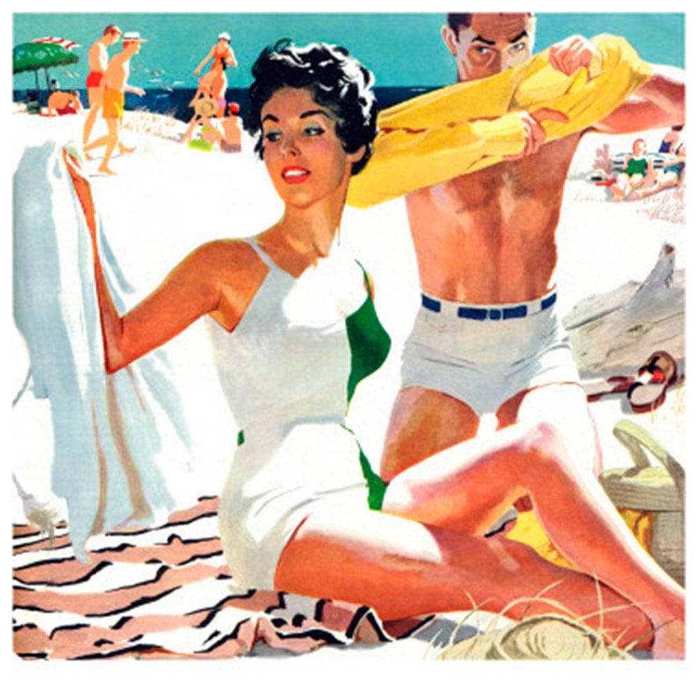 Quadro-Poster-Meyers-Robert-Ano-1954-44-X-44-Cm
