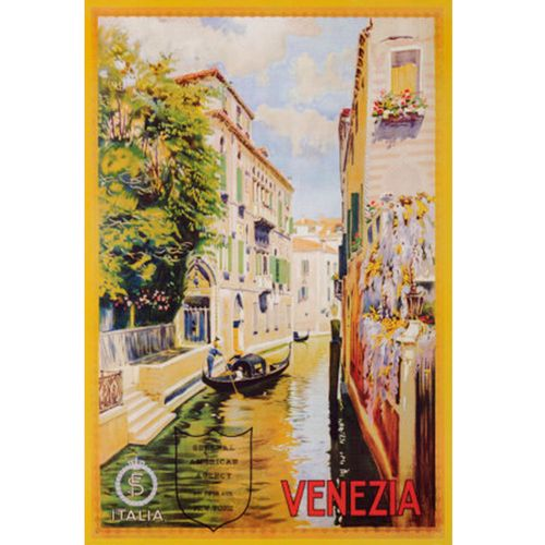 Quadro-Poster-Veneza-96-X-65-Cm