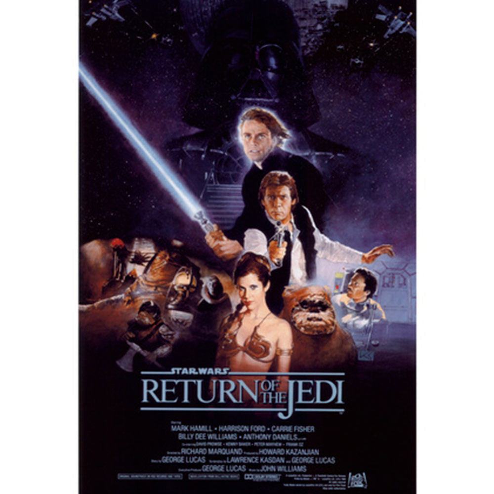 Quadro-Poster-Star-Wars-Return-Of-The-Jedi-100-X-68-Cm