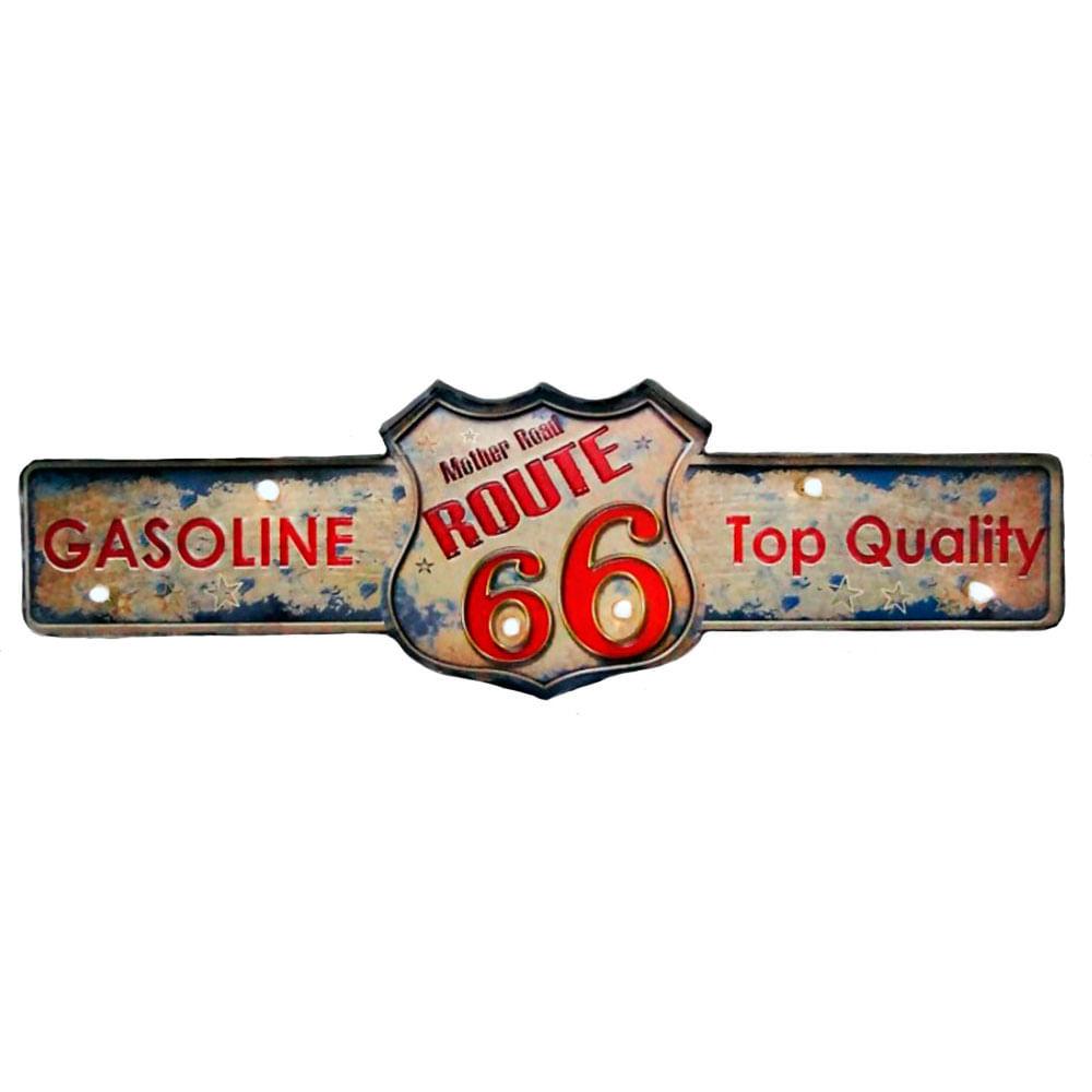 Placa-Decorativa-Luminosa-Retro-Rota-66-Gasoline