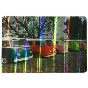 Placa-Refletiva-3d-De-Metal-Kombi-Coloridas