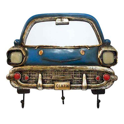 Espelho-Com-Ganchos-Bel-Air-Chevrolet-Azul-1953-Oldway
