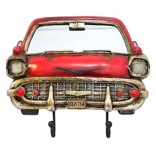 Espelho-Com-Ganchos-Bel-Air-Chevrolet-Vermelho-1953-Oldway