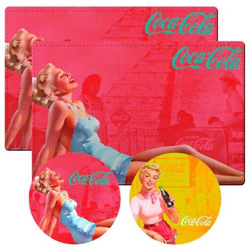 Conj-2-Jogos-Americanos-Pin-Up-Red-Coca-Cola-Retro