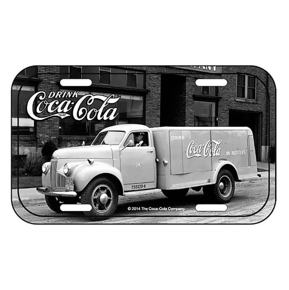 Placa-Metal-Big-Truck-Coca-Cola-Retro