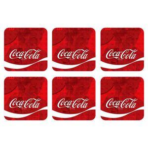 Porta-Copos-6-Pecas-Classic-Coca-Cola-Retro