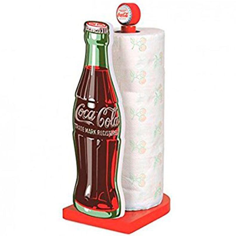 Suporte-Para-Rolo-De-Guardanapos-Coca-Cola-Retro
