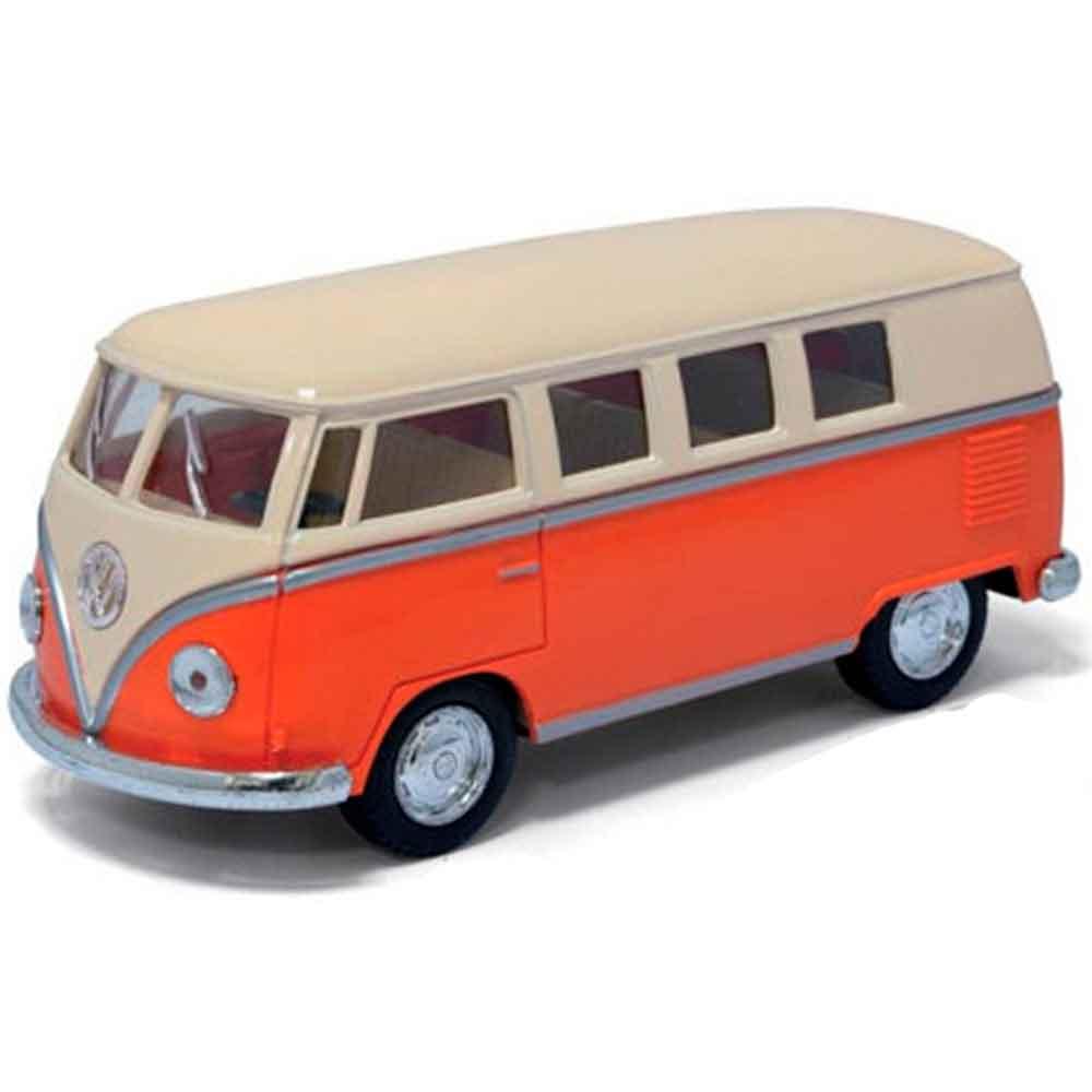 Miniatura-Kombi-1962-Escala-1-32-Laranja
