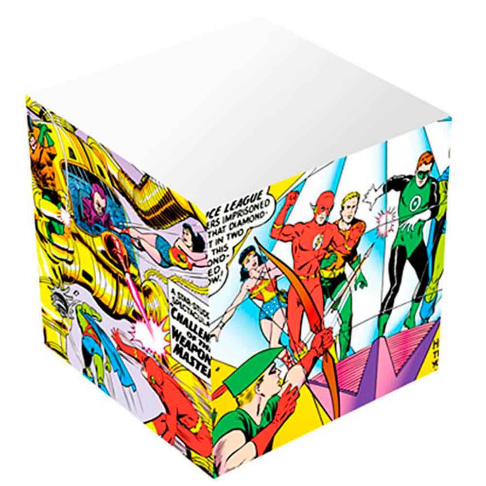 Bloco-De-Anotacoes-Dc-Commics-Super-Herois