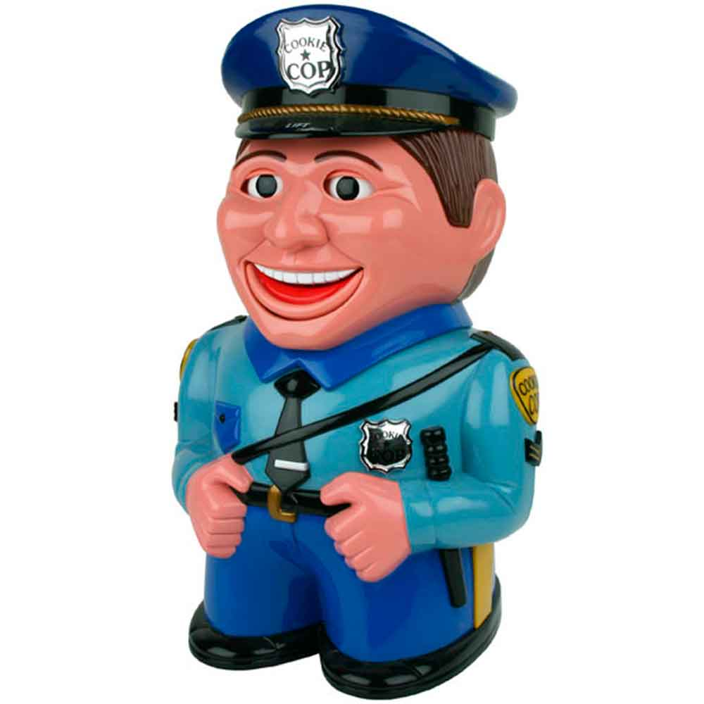 Biscoiteira-Police-Man-Cookie-Sonoro
