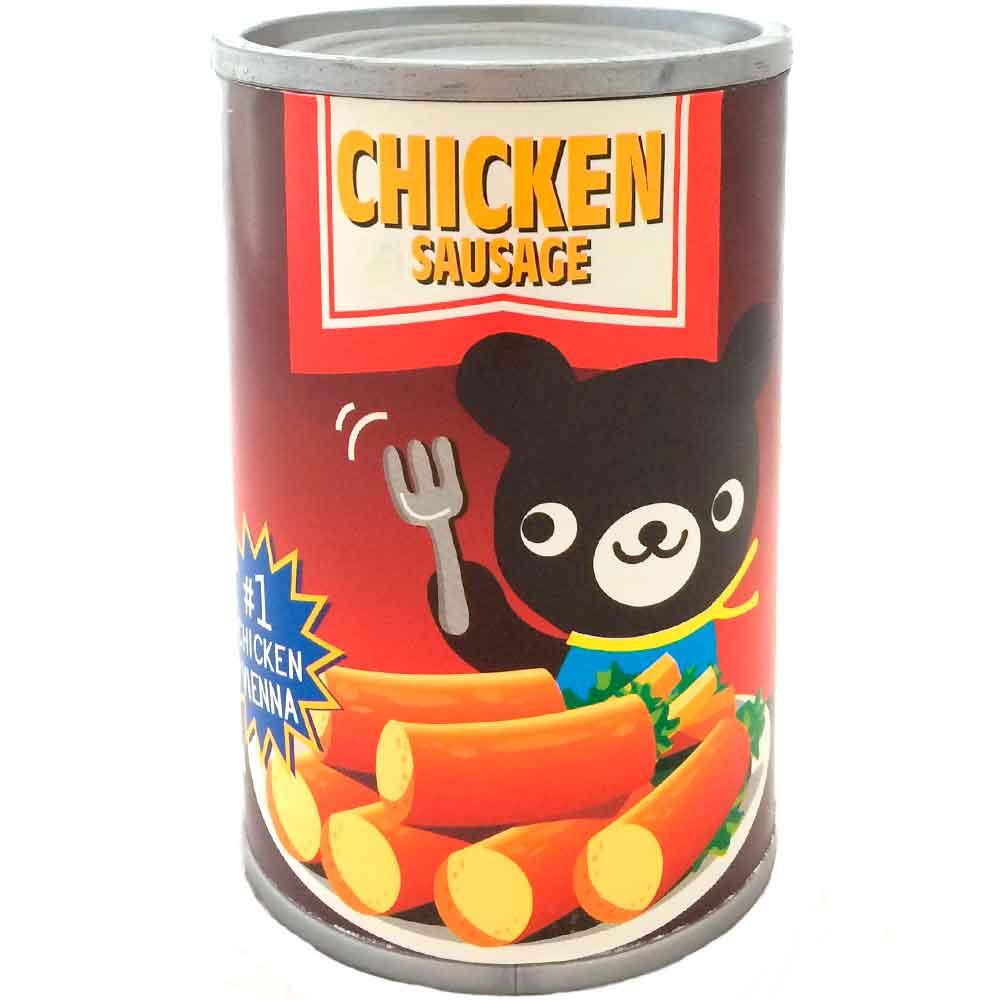 Cofre-Lata-De-Mantimento-Retro-Chicken-Sausage