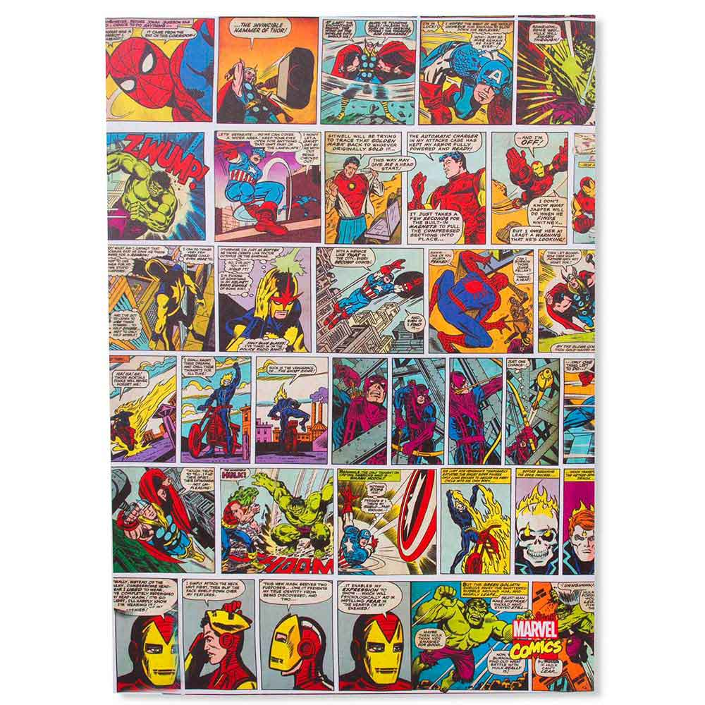 Quadro-Tela-Marvel-Quadrinhos