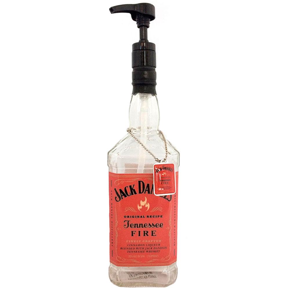 Porta-Sabonete-Liquido-Jack-Daniels-Fire