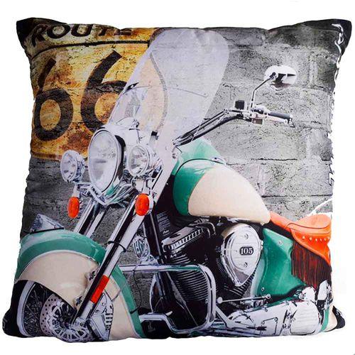 Almofada-Com-Enchimento-Motocicleta-Verde