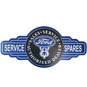 Mini-Placa-Decorativa-Alto-Relevo-Mdf-Ford