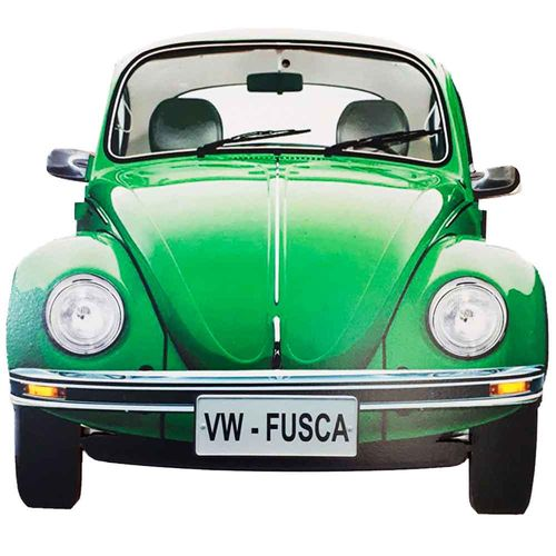 Placa-Decorativa-Mdf-Fusca-Verde