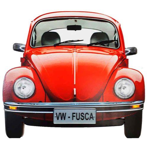 Placa-Decorativa-Mdf-Fusca-Vermelho