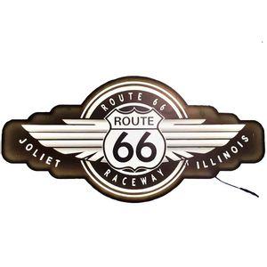 Placa-Decorativa-Mdf-Com-Led-Rota-66