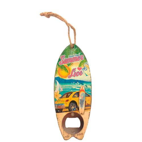 Abridor-De-Garrafa-Para-Parede-Prancha-De-Surf-Summer-Love