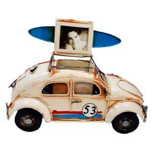 Miniatura-Fusca-Herbie-Com-Porta-Retrato