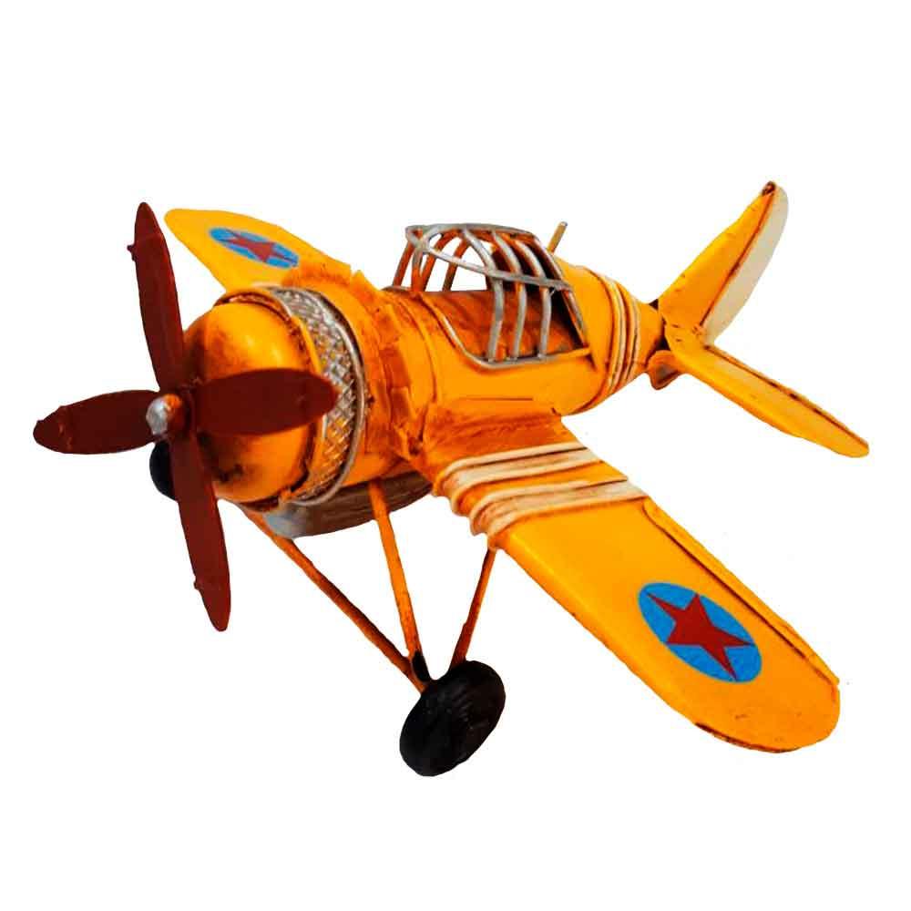 Miniatura-Aviao-Estrela-9660-Amarelo