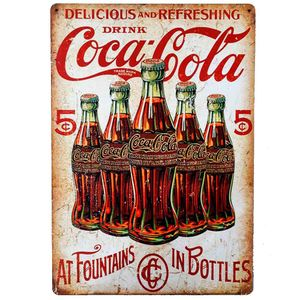 Placa-Decorativa-Mdf-Coca-Cola-5-Cents