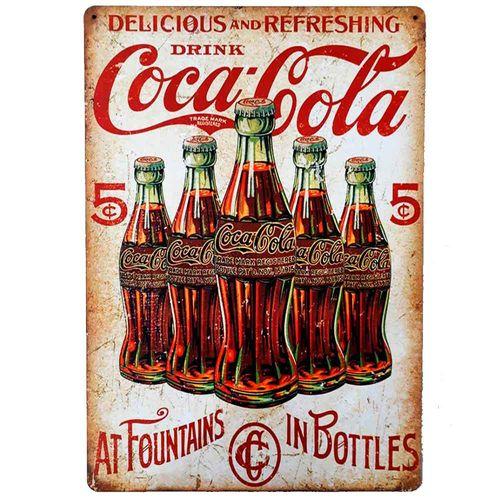 Placa-Decorativa-Mdf-Coca-Cola-5-Cents