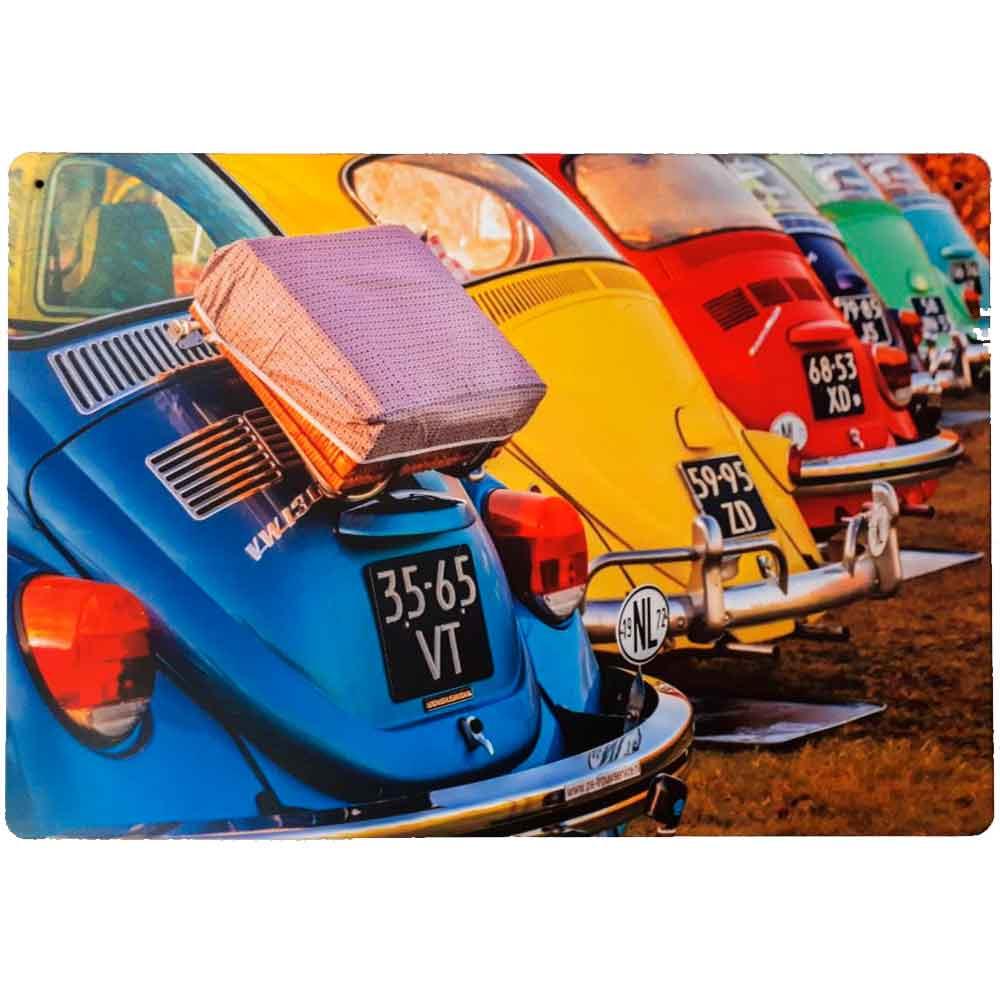 Placa-Decorativa-Mdf-Trazeira-Fuscas-Coloridos