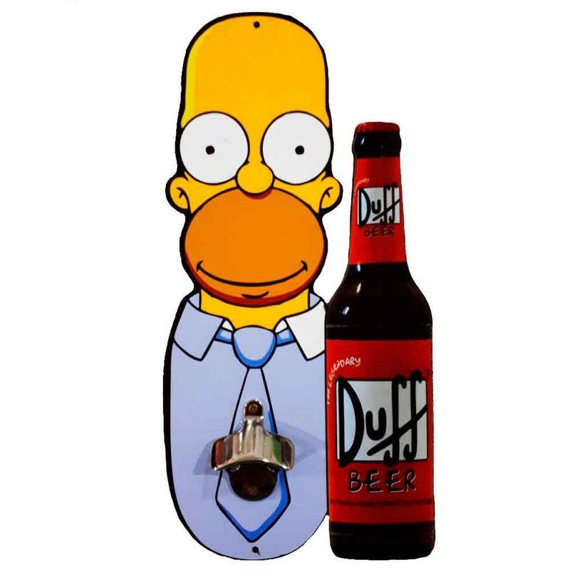 Abridor-De-Garrafa-De-Parede-Homer-Simpson-Duff