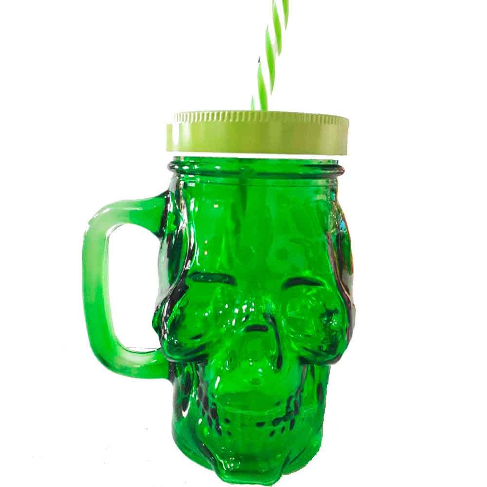 copo-de-vidro-com-canudo-caveira-verde-cod-538401