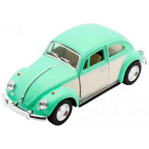 Miniatura-1967-Volkswagen-Fusca-Escala-1-32-Verde-Pastel
