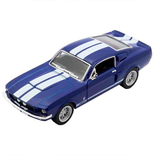 Miniatura-1967-Shelby-Gt-500-Escala-1-38-Azul-E-Branco
