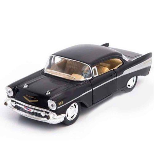 Miniatura-1957-Chevrolet-Bel-Air-Escala-1-40-Preto