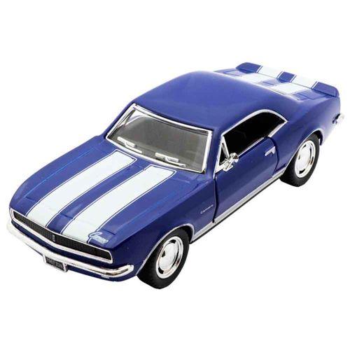 Miniatura-1967-Chevrolet-Camaro-Escala-1-37-Azul-E-Branco