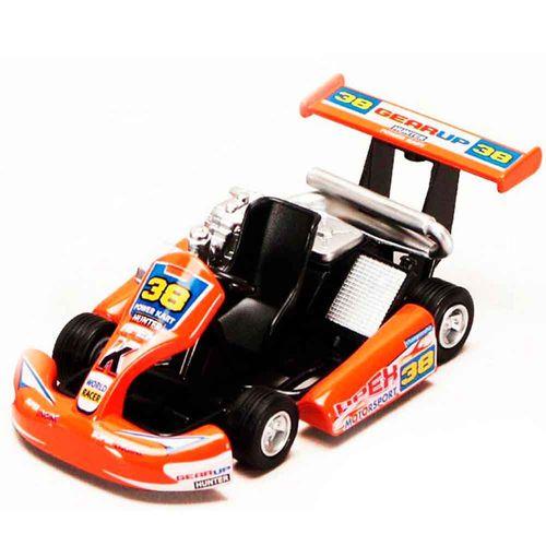 Miniatura-Kart-Turbo-Go-Vermelho