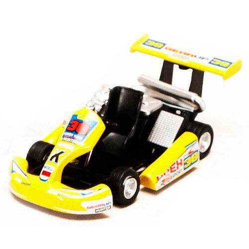 Miniatura-Kart-Turbo-Go-Amarelo