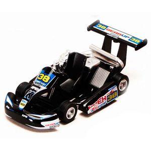 Miniatura-Kart-Turbo-Go-Preto