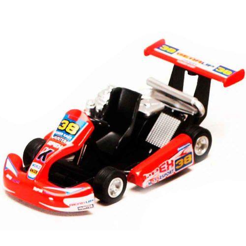 Miniatura-Kart-Turbo-Go-Laranja