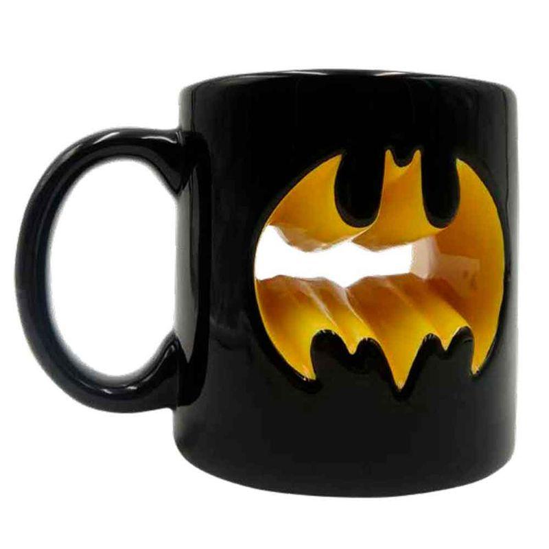 Caneca-De-Porcelana-3d-Dc-Comics-Batman-Logotipo-320ml