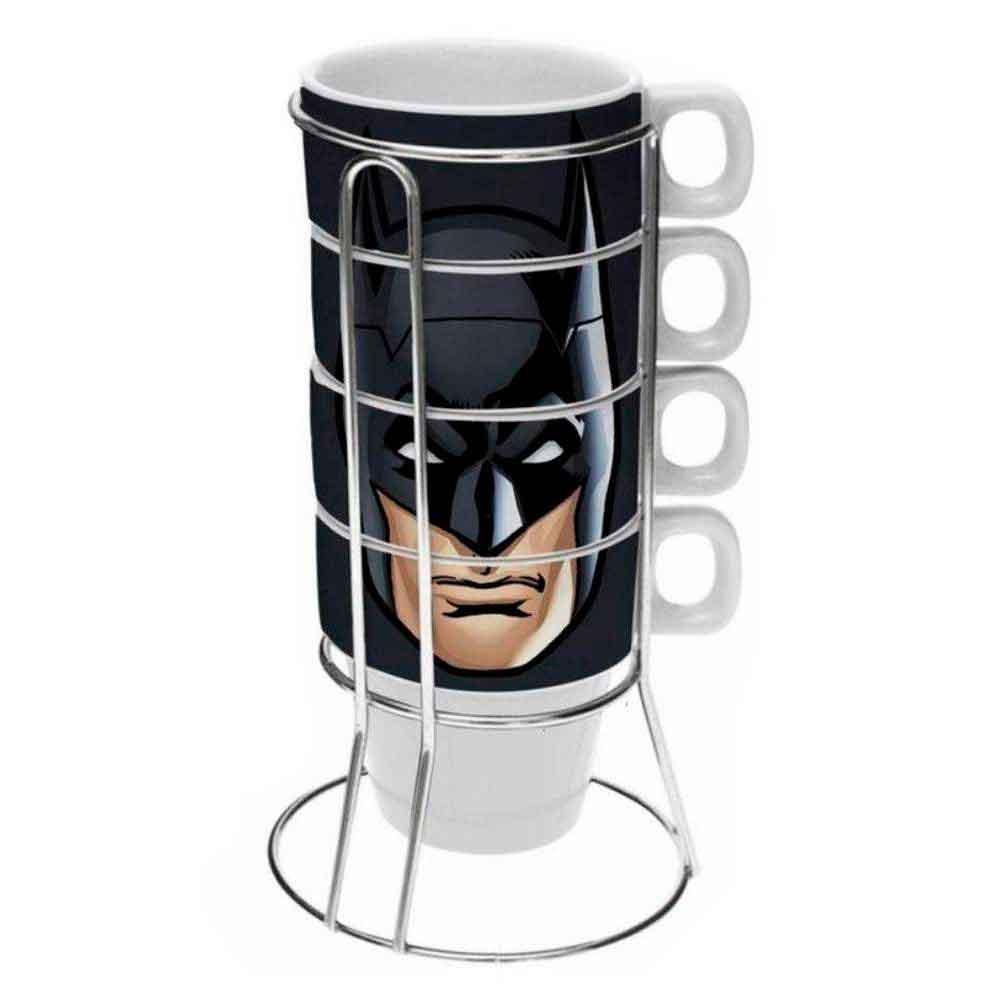 Kit-5-Pecas-Xicaras-De-Ceramica-Capuccino-Batman-225ml