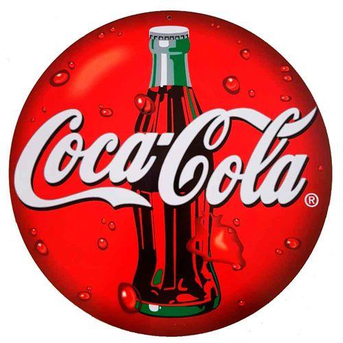 Placa-Decorativa-Mdf-Coca-Cola-Vermelho---Unica
