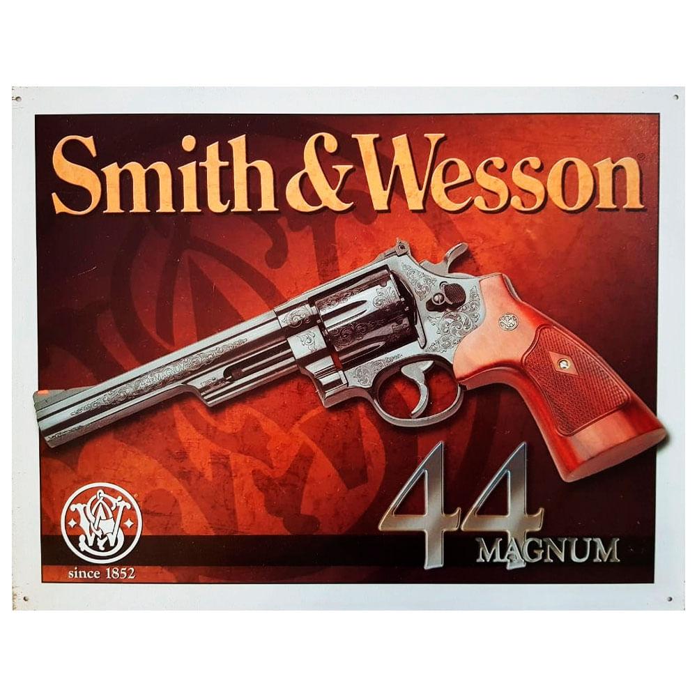 Placa-De-Metal-Smith---Wesson