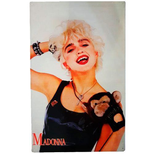 Placa-De-Metal-Vintage-Da-Madonna