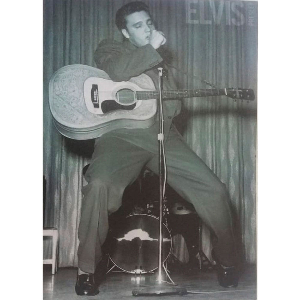 Quadro-Tela-Elvis-Presley-Stuck-On-You