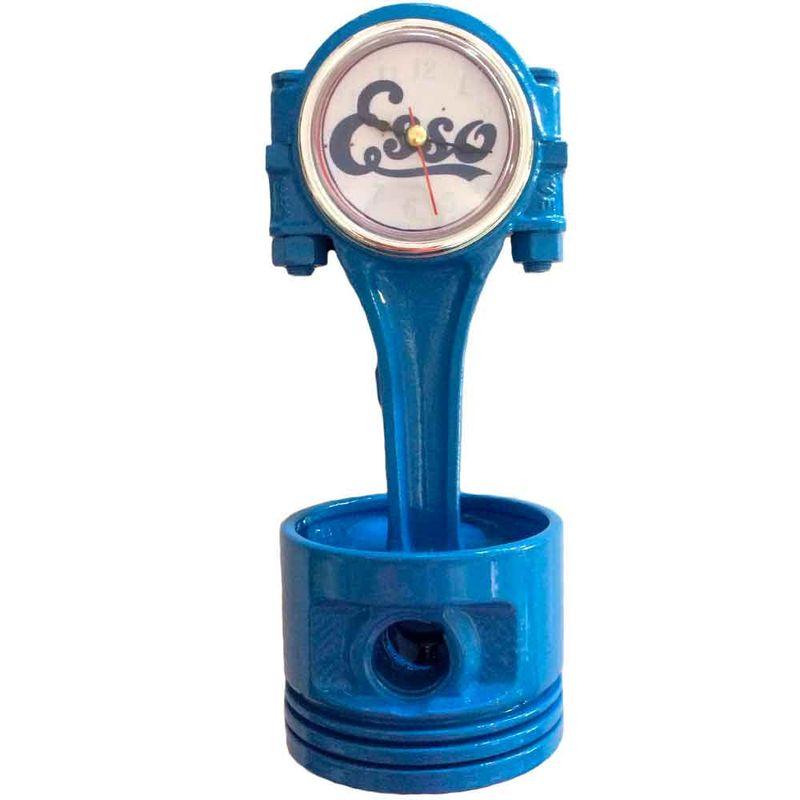 Relogio-De-Mesa-Pistao-Esso-Azul